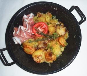 Fenchel-Kartoffel-Pfanne mit Schwarzwälder Schinken