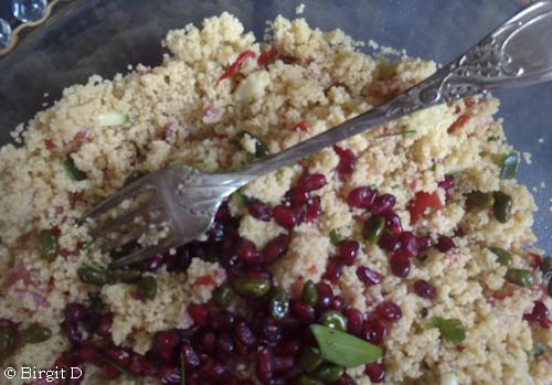Orientalischer Couscous-Salat mit Schafskäse
