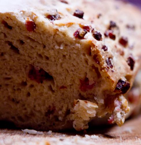 Kräuter-Schinken-Brot