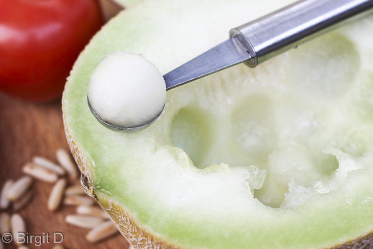 Melonen-Bällchen