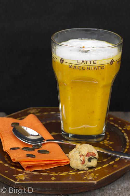 Latte Macchiato vom Hokkaido-Kürbis