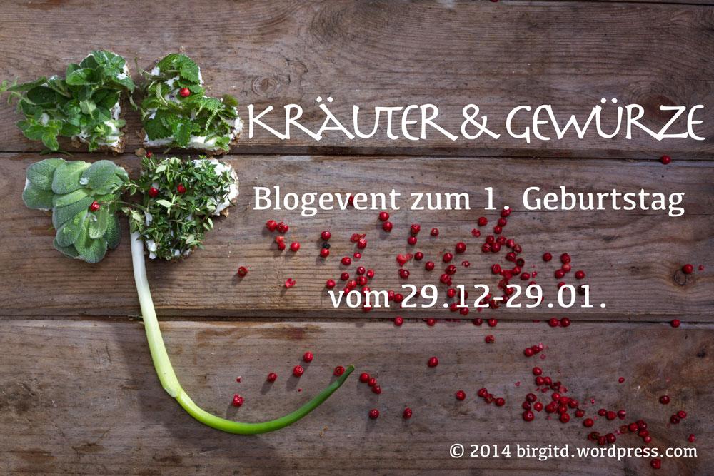 1. Blog-Geburtstag BirgitD - Halbzeit -