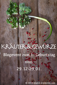 1. Blog-Geburtstag BirgitD