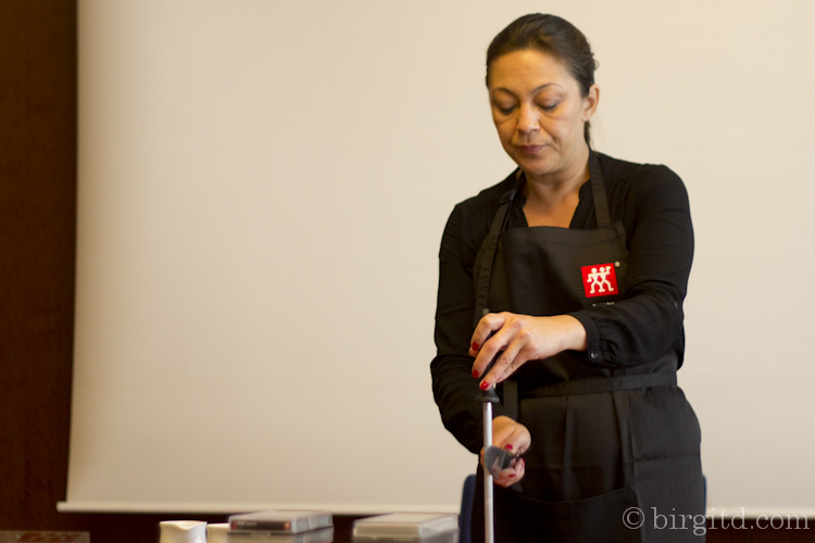Kirsteen Altgassen, Fa. Zwilling- Food Blog Day HH 2015