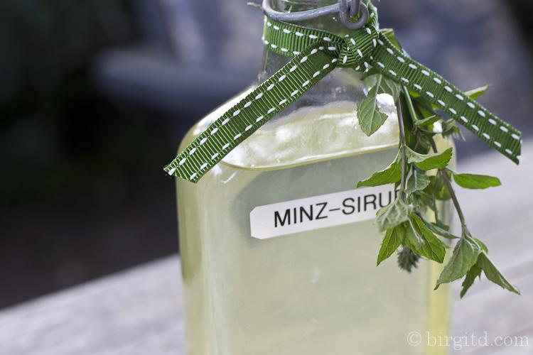 Minz-Sirup